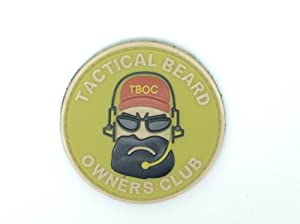 Airsoft Patch PVC T-B-O-C Olive