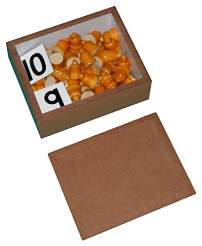 KIDO Toys Kido Montessori Materials Cards + Counters Matching Quantities with numbers