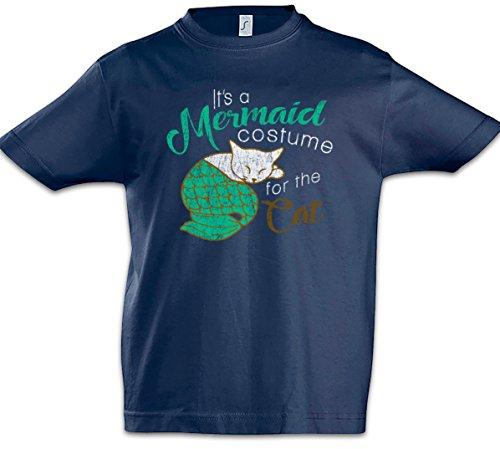 ungen Kinder T-Shirt (Moderne Familie Katze Kostüm)