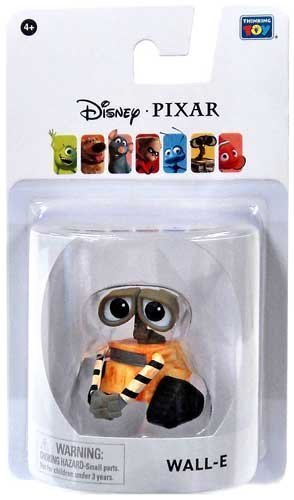 Disney / Pixar Wall-E 2 Inch Mini Figure Wall-E by Finding Nemo (Wall-e Pixar)
