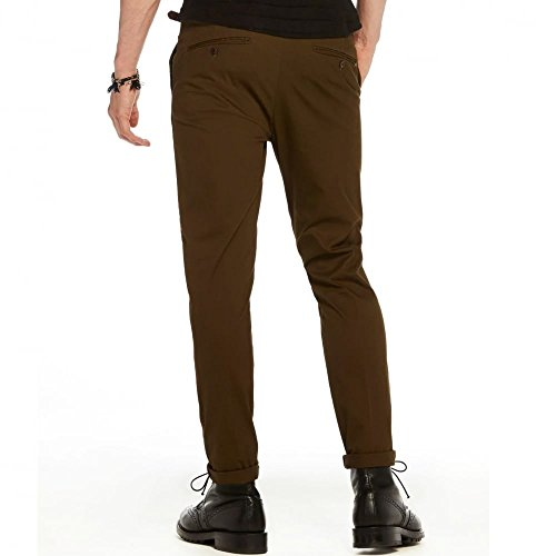 Scotch & Soda Herren Hose Mott-Stretch Baumwollechinos | Super Slim Fit 360 Military