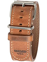 Bertucci b-201h Mens D-Type American Heritage de 26mm de piel Horween reloj banda
