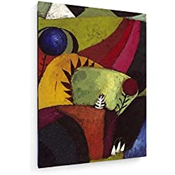 Paul Klee - Weiß Campanula - 1930-60x80 cm - Leinwandbild auf Keilrahmen - Wand-Bild - Kunst, Gemälde, Foto, Bild auf Leinwand - Alte Meister/Museum