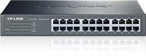 TP-LINK TL-SG1024D 24-Port Gigabit Desktop/Rackmount Unmanaged Switch