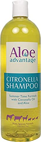 Aloe Advantage Citronella Shampoo Non-toxic Al Natural Multi-Species Formula