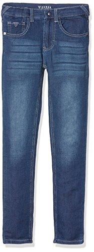 Guess Unisex Baby Jeans L71A03D2CQ0 Blau (Bleu/Medium Wash), 122 (Herstellergröße: 10) (Jeans Baby Guess)