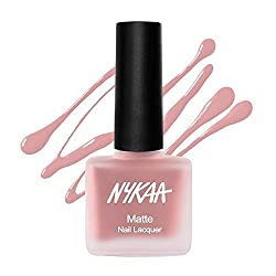 Nykaa Nude Matte Nail Enamel - Nutcracker Dreams 151 (9ml)