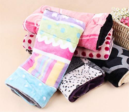 Schönes Design Haustier Hund Katze Fleece Couture Decke Matte (zufällige Farbe, M) Ari_Mao