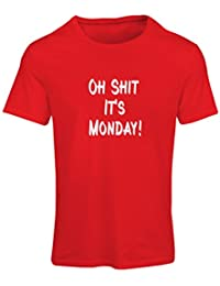 N4068F Camiseta mujer Oh shit its Monday gift