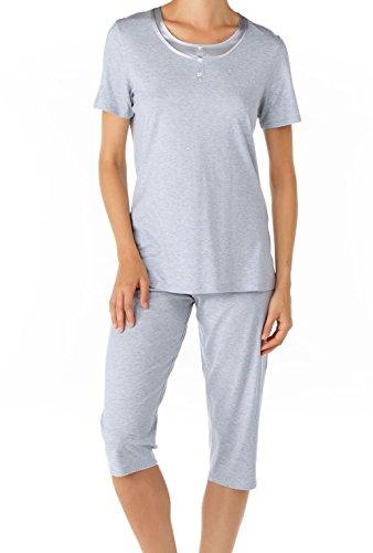 CALIDA - Pyjama corsaire California Star White