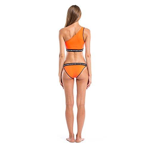 GlideSoul Damen Signature Collection One Shoulder Bikini-Oberteil pfirsich