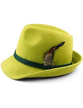 Trachtenhut mit Feder apfelgrün