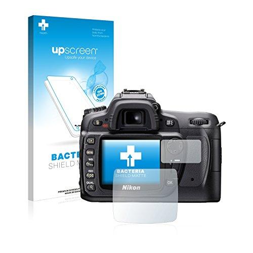 upscreen Nikon D80 Antibakterielle Schutzfolie Matt - Anti-Reflex Displayschutzfolie, Anti-Fingerprint, Anti-Kratzer