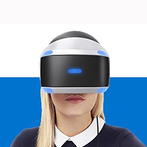 AYI mit Augenschutz VR-Kopfhörer 3D-Brille 360 HD Immersiv Virtuelle Realität Helm Brille Video Spiel Griff Für iPhone 7, Samsung S6, 4,0-6,1 Zoll PS4 Eingestellt PSVR PS4VR