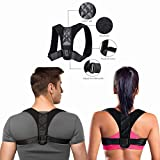 Workbees Back Support Straightener Posture Correction Back Shoulder Neck Adjustable Sports Bust 80-120 cm