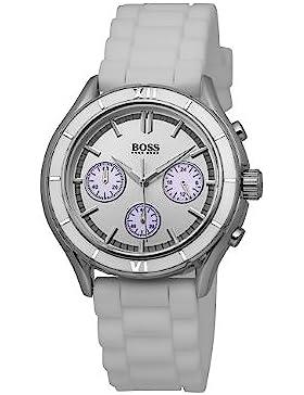 Hugo Boss Damen-Armbanduhr Chronograph Quarz Silikon 1502223