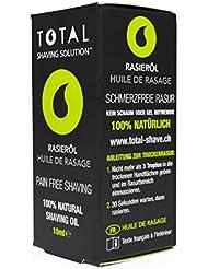 Total Shaving Rasieröl Natürliche Inhaltstoffe sensitive Haare Bart Körperhaare
