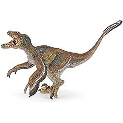 Papo Toys 2055055 - Figura Velociraptor Con Plumas (Plastico)