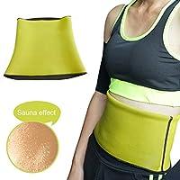 Preisvergleich für Fitnessgürtel Slimmer Belt Einstellbar Gürtel Neopren Abnehmen Korsett