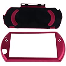 Protective Aluminum Carry Hard Case Cover For Sony PSP GO Game Console Red