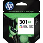 HP 301XL High Yield Tri-colour Origin...