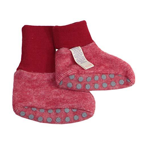 neu verschiedene Farben Babyschuhe aus Wollfleece kbT-Schurwolle von Cosilana