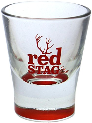 Red Stag by Jim Beam Shot Glas