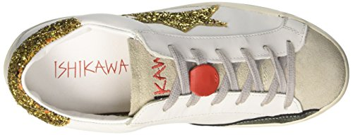 Ishikawa Low, Unisex White-adult Low Neck Sneaker