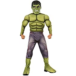 Hulk Disfraz Ragnarok Premium infantil, color 0, M (Rubies Spain 640098-M)