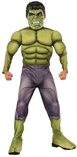 Rubie's Offizielles Hulk-Kostüm für Kinder, Marvel Ragnarok, Deluxe-Qualität (Marvel Hulk Deluxe Kind Kostüme)