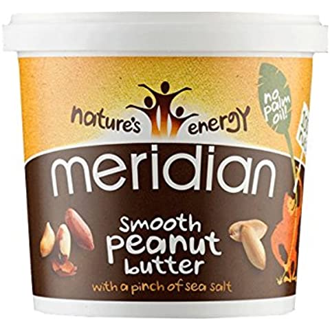 Meridian - Smooth Peanut Butter with a Pinch of Salt - 1Kg