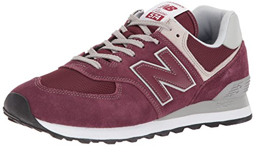 New Balance Herren Ml574E Sneaker, Schwarz (Burgundy/ML574EGB), 39.5 EU