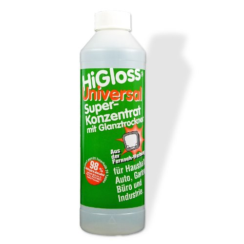 HiGloss Superkonzentrat 500ml mit Glanztrockner -