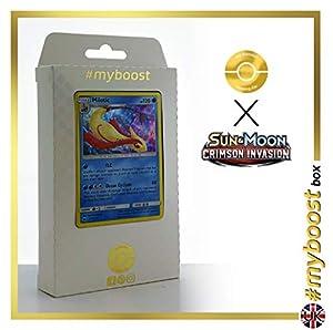 Milotic 27/111 Holo - #myboost X Sun & Moon 4 Crimson Invasion - Box de 10 Cartas Pokémon Inglesas
