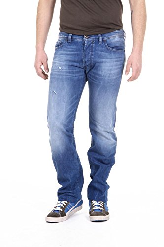 jeans uomo Diesel mens jeans safado 0663e l.34 -- waist 30 - length 34