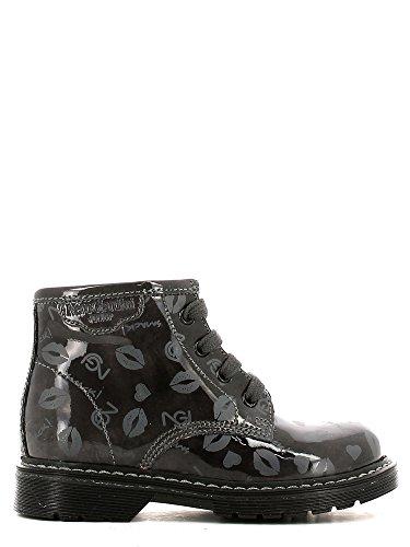 Nero Giardini Junior , Chaussures premiers pas pour bébé (fille) Gris gris 22, Gris - Antracite, 21