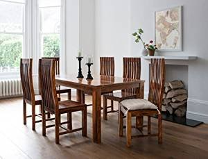 Handcrafted Sheesham wood Dining set with 4 chairs