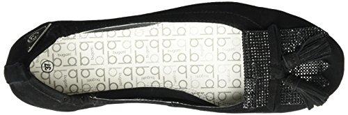 Bugatti J06783G, Ballerine Donna Nero (Schwarz 100)