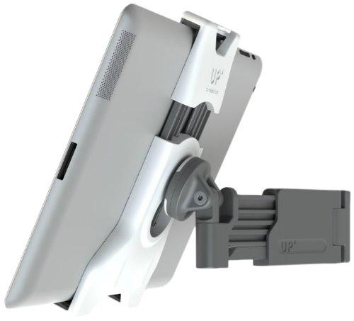 """XFlat UP450 - Universelles Halter System (weiß) für ALLE TABLETS von 7"""" bis 12"""" Zoll, u.A. iPad, Galaxy Tab, Kindle, etc. - inkl. 1 Stück schwenkbare Teleskoparm Wandhalterung (PM-Up400) - kompatibel zu allen PM-Up Systemen"""