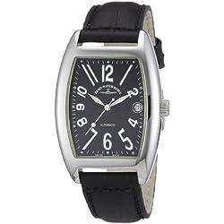 Zeno Watch Basel Unisex-Armbanduhr Tonneau OS Analog Automatik Leder 8080-a1