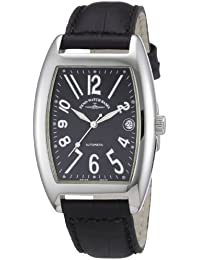 Zeno Watch Basel Men's Automatic Watch Tonneau OS 8080-a1 with Leather Strap