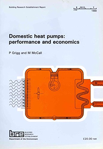 [(Domestic Heat Pumps : Performance and Economics)] [By (author) P. F. Grigg ] published on (November, 2010) (Pump P/f)