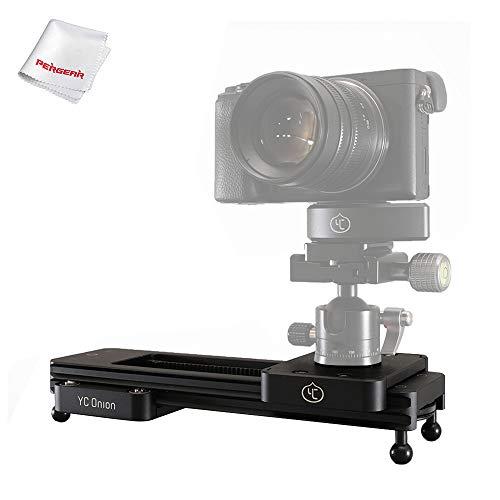 YC Onion Chocolate Handbetrieb Mini-VideoSchiene Luftfahrt Aluminium Legierung, vielseitige Montageoptionen für DSLR, spiegellose Kamera, Gopro und Smartphone, Zeitraffer und Videoaufnahme - Luftfahrt-kamera