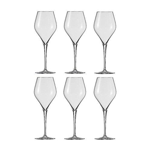 Schott Zwiesel Finesse Vino Rosso 1, Set 6 pz., Bicchiere da Vino Rosso, Cristallo, 437 ml, 118603