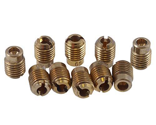 2EXTREME 4083015 Vergaser Düsenset 50-72 für Gurtner Speedfight 1 2 50 AC DT LC DD Roller (2 Vergaser)