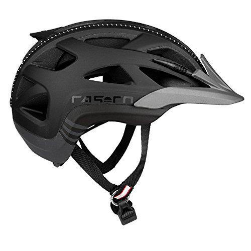 Casco Erwachsene Active 2 Fahrradhelm, Mehrfarbig (mehrfarbig (schwarz-anthrazit)), L (58-62 cm)