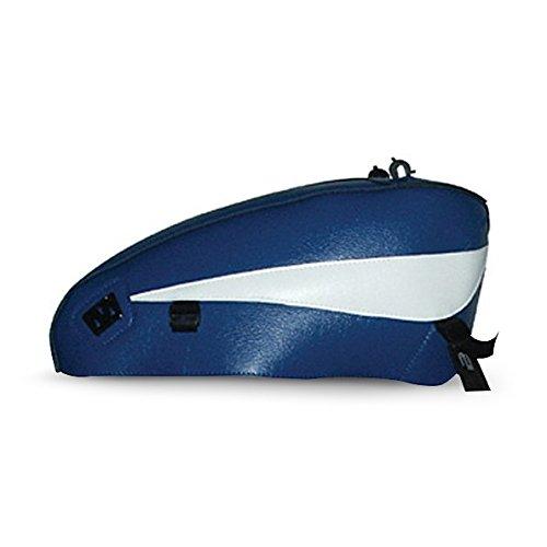 Tankschutzhaube Bagster für Harley Davidson Sportster 883 R Roadster (XL 883 R) 04-07 blau/weiss