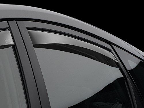 Weathertech 70708 Windabweiser auto für Range Rover Evoque 2012 - 2017-Windabweiser Front