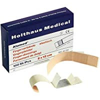 Holthaus Medical Alumed Fingerverband Fingerpflaster Wundpflaster, elastisch, 2x12cm, 100St preisvergleich bei billige-tabletten.eu
