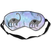 Cute Dinosaur Love Heart 99% Eyeshade Blinders Sleeping Eye Patch Eye Mask Blindfold For Travel Insomnia Meditation preisvergleich bei billige-tabletten.eu